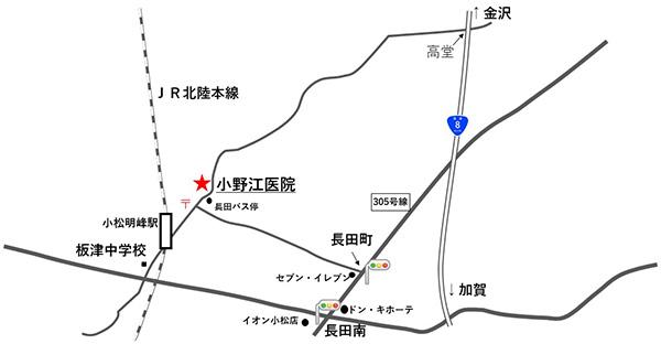 石川県小松市長田町甲1